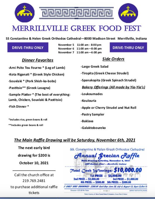 Saints Constantine and Helen Greek Food Fest